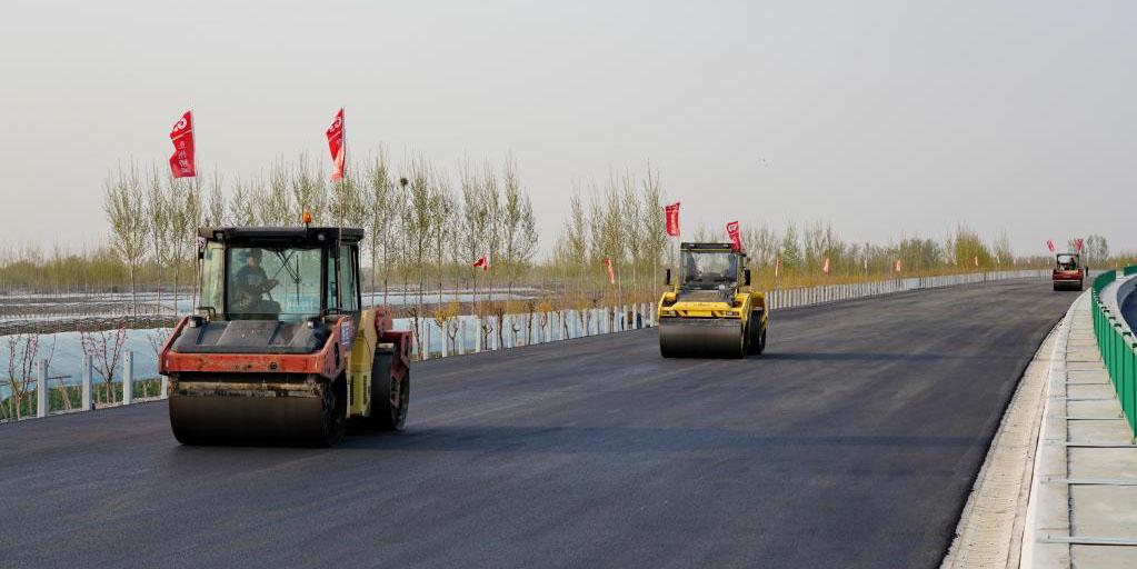 Seguem em andamento as obras da via expressa Beijing-Dezhou