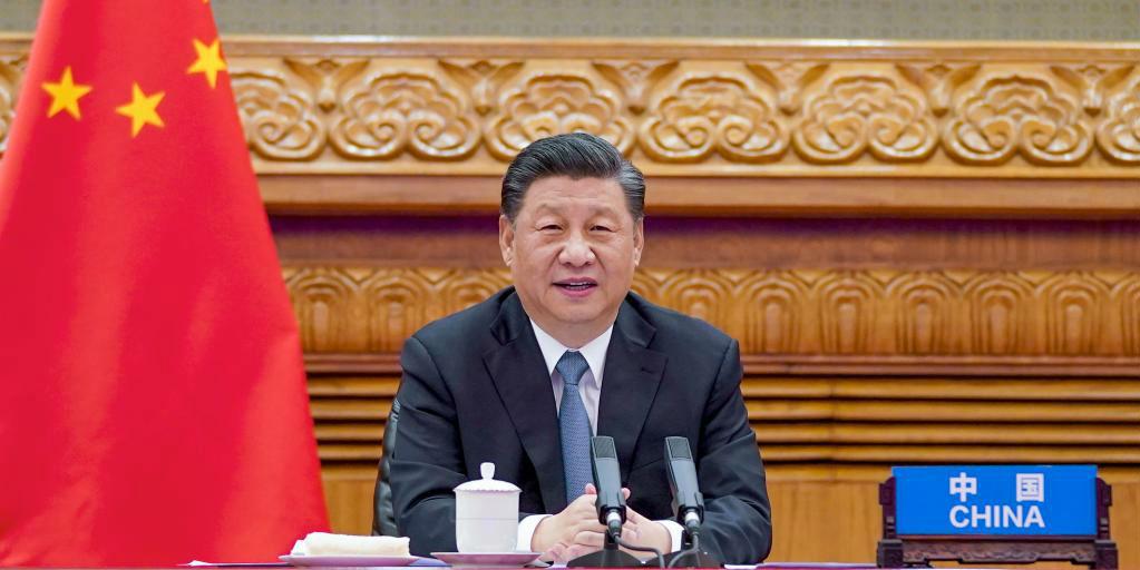 Xi participa de videoconferência com líderes de França e Alemanha