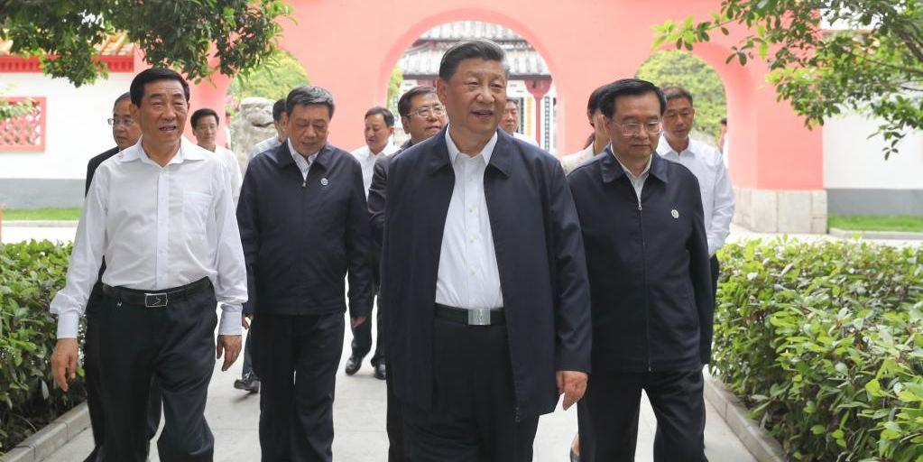 Xi inspeciona cidade de Nanyang, centro da China